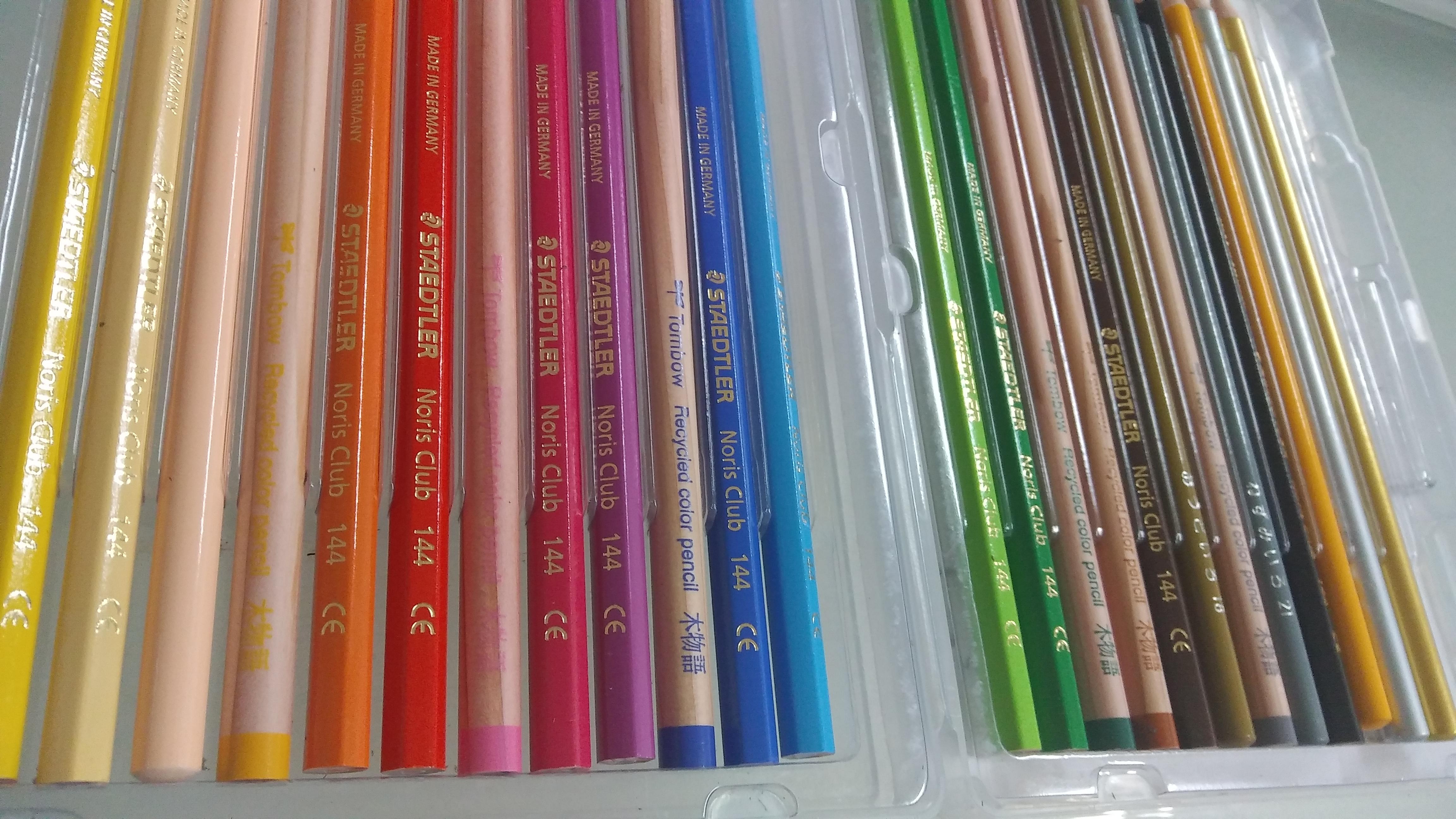 保育士試験造形用色鉛筆